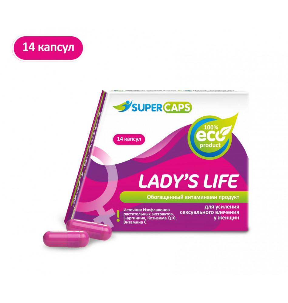 Средство возбуждающее для женщин LADY LIFE (Лэдис Лайф) , 1 капс.