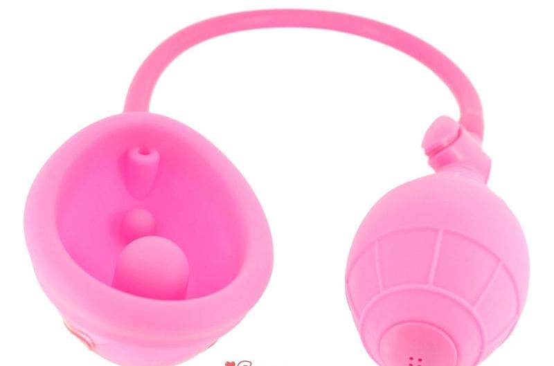 АКЦИЯ 25%! Помпа для вагины VAGINA PUMР, силикон +АВС пластик, розовая, 9х5 см