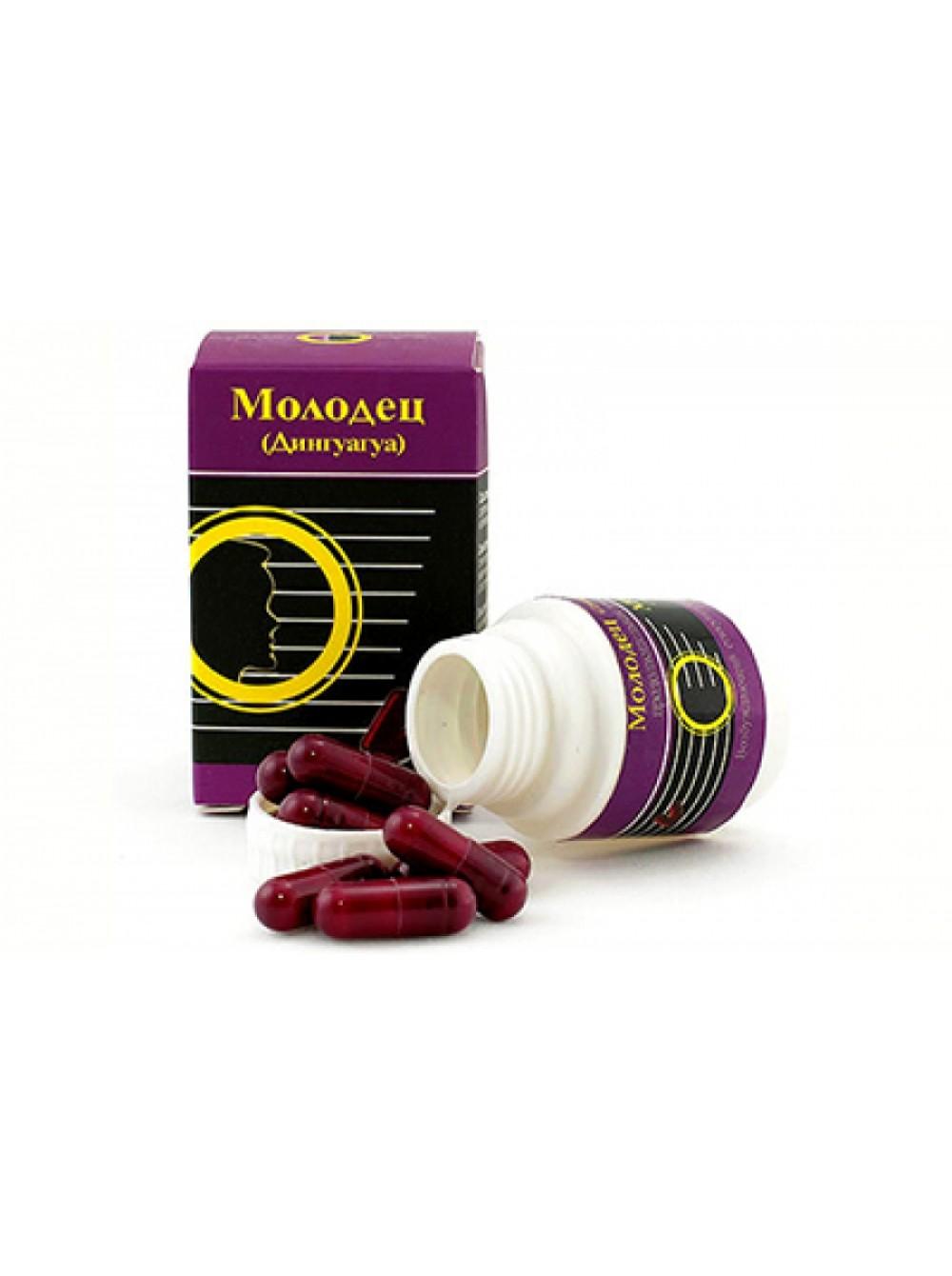 Виагра для мужчин  Дингуагуа (Молодец )  - препарат для увеличения члена и повышения потенции, 1 капс.