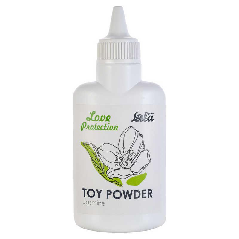 Пудра для игрушек ароматизированная  LOVE PROTECTION ЖАСМИН,  30 гр