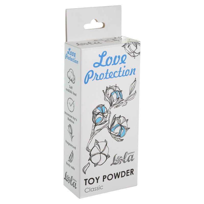 Пудра для игрушек LOVE PROTECTION CLASSIC классическая, 30 гр