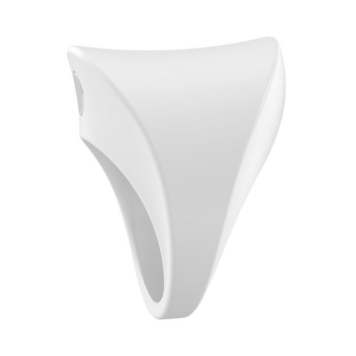 УЦЕНКА 40%! Эрекционное виброкольцо OVO белое, силикон (небольшой дефект поверхности)