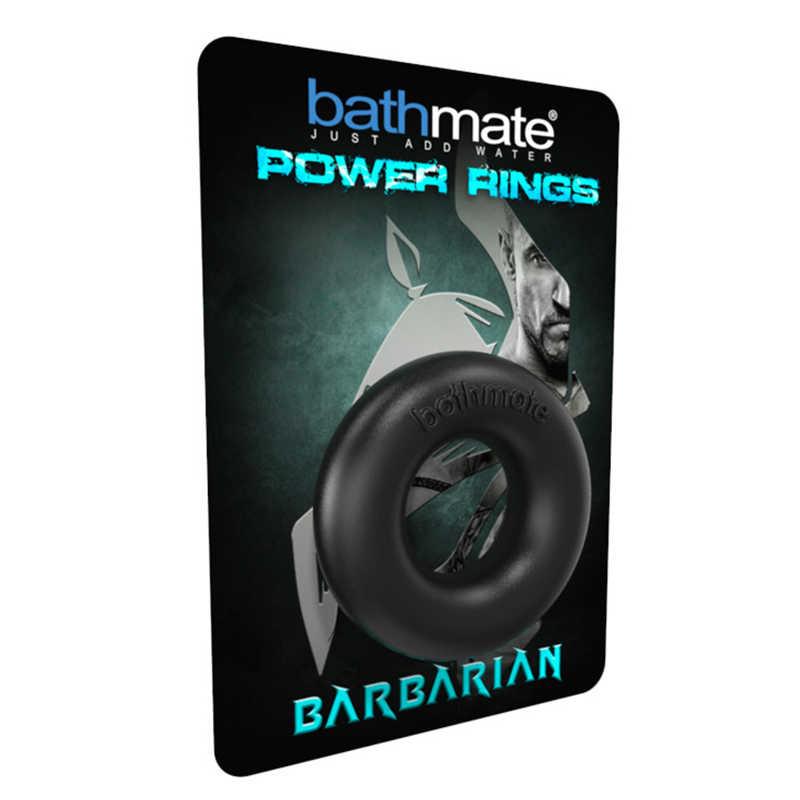 Эрекционное кольцо BATHMATE BARBARIAN, эластомер, черное, 5 см
