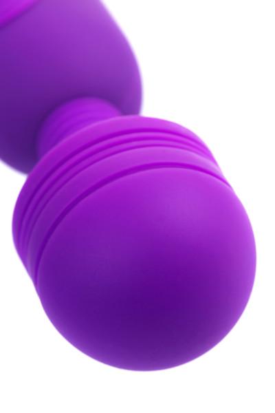 Перезаряжаемый вибратор KILY, 10 режимов, силикон, фиолетовый, 18,7х3.5 см см