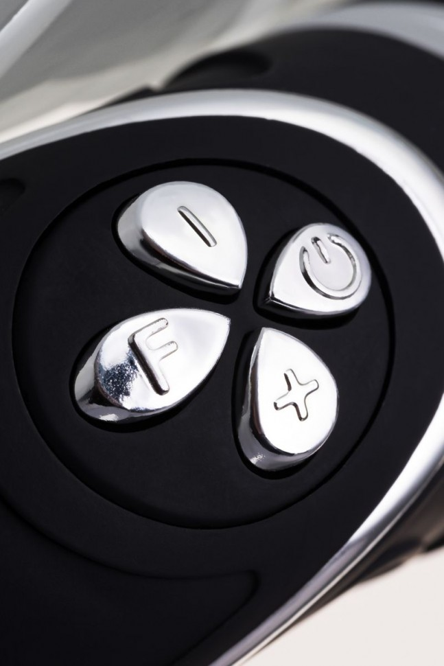АКЦИЯ 25%! Анальный вибростимулятор-Елочка EROTIST, 6 режимов, силикон, черный, 20,7(14,2)х(3,5-2) см