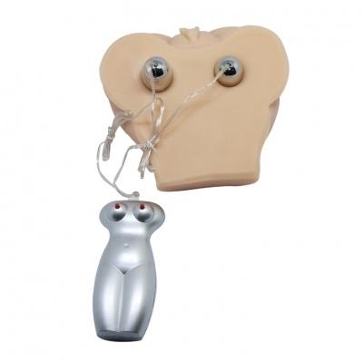 Мастурбатор с вибрацией, 2 виброяйца, функция голоса,  вес 1024 гр,  15х10 см