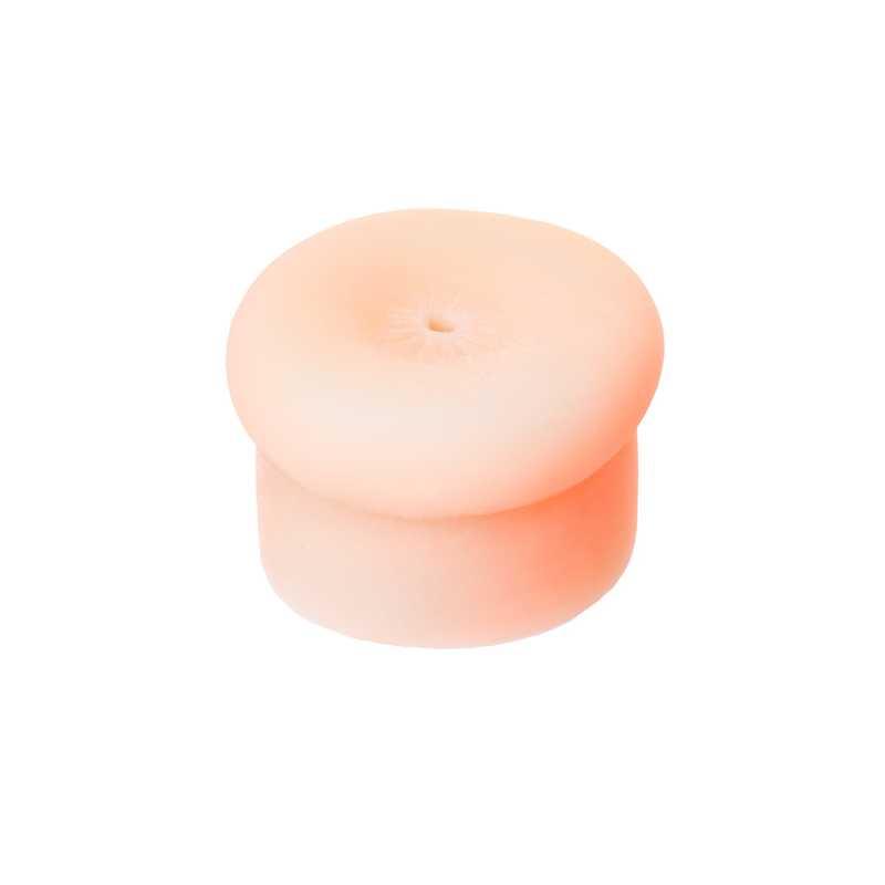Насадка для помпы SEXUS MEN FINE ASS в виде ануса, ТПЕ силикон, телесная, 7,5 см