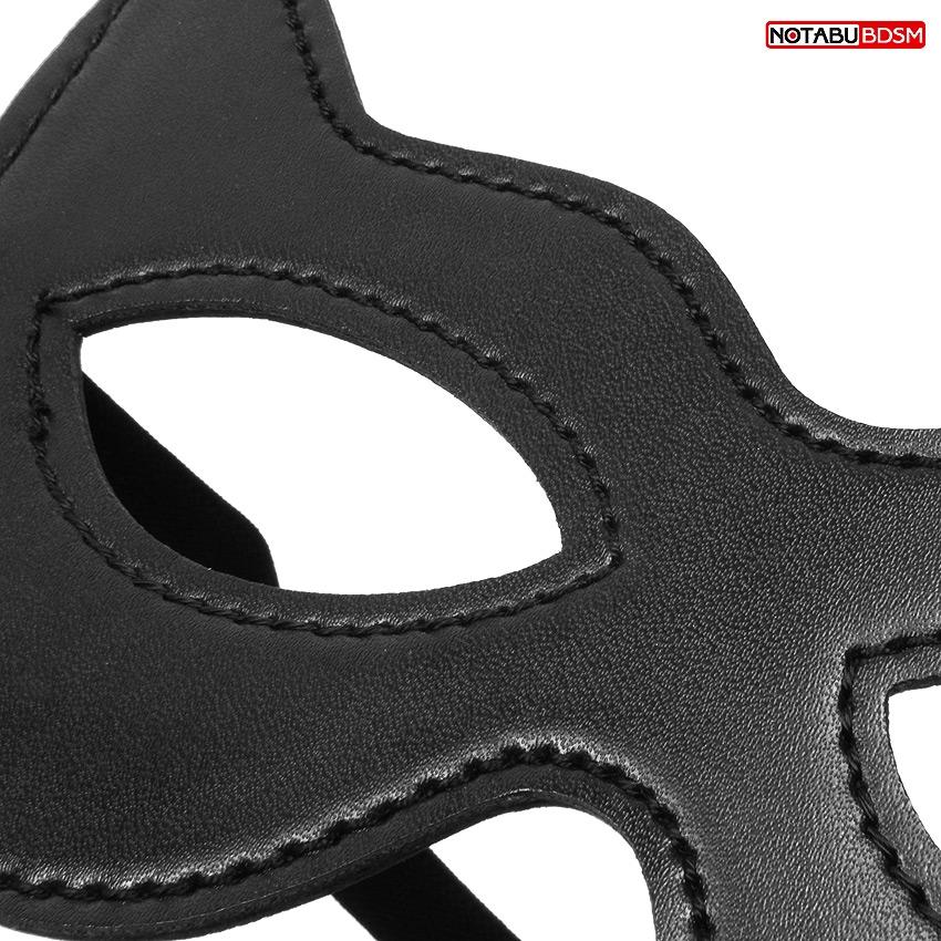 Маска Кошечка,  PVC, цвет чёрный