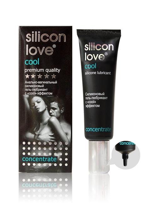 Гель-любрикант SILICON LOVE COOL  силиконовый с COOL-эффектом (охлаждающий), для чувствительной кожи, 30 гр