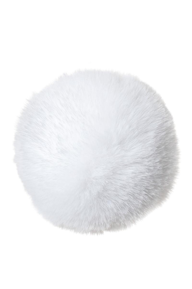 Анальная втулка с хвостиком ToDo SWEET BUNNY, силикон, розово-белый, 13х2,8 см см