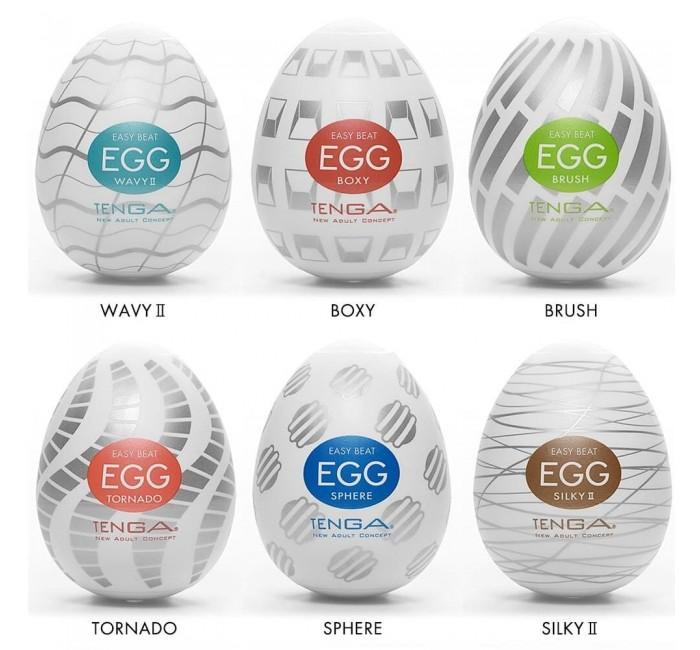 АКЦИЯ 30%! Мастурбатор-яйцо TENGA EGG - III,  силикон, 6,1х4,9 см, 1 шт.