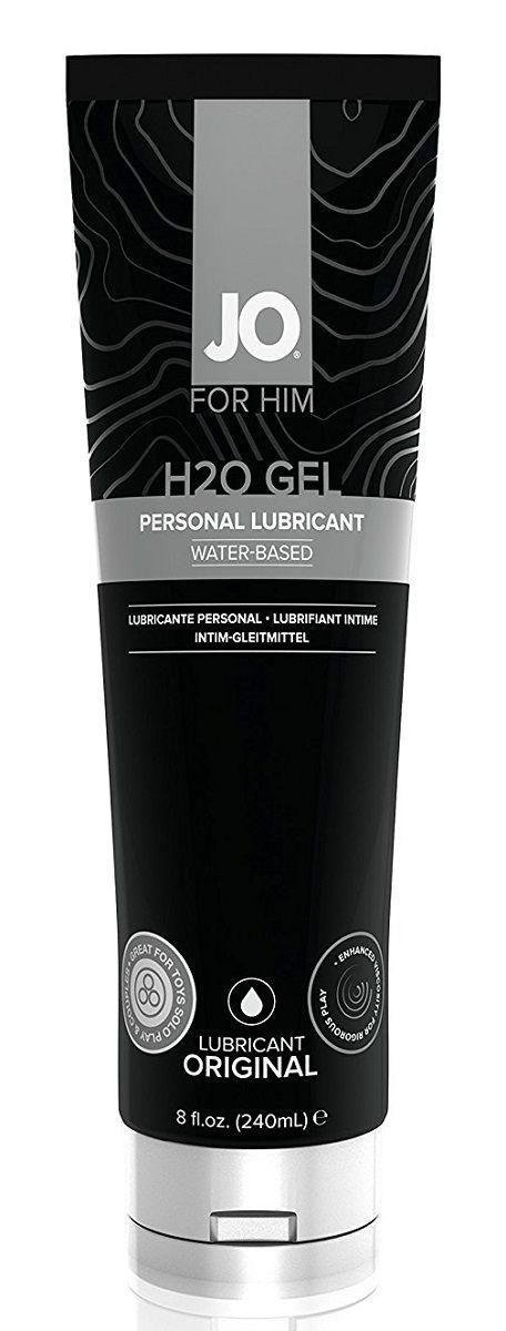 Супер густой гель-лубрикант на водной основе JO H2O GEL - FOR HIM, 240 мл