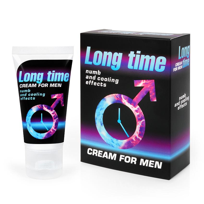 Крем для мужчин LONG TIME продлевающий,  25 гр