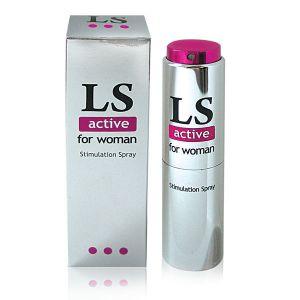 Возбуждающий спрей-стимулятор для женщин LOVESPRAY ACTIVE, 18 мл
